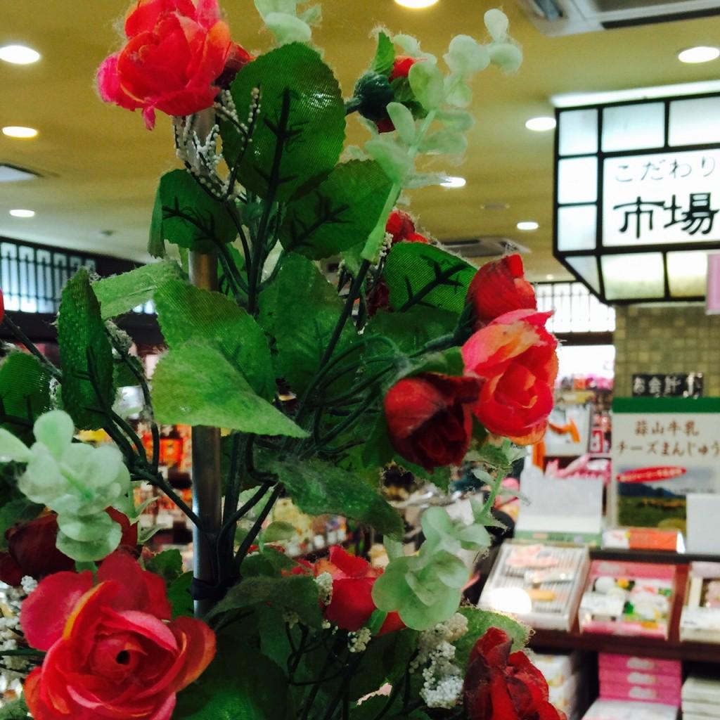 сенча с розами