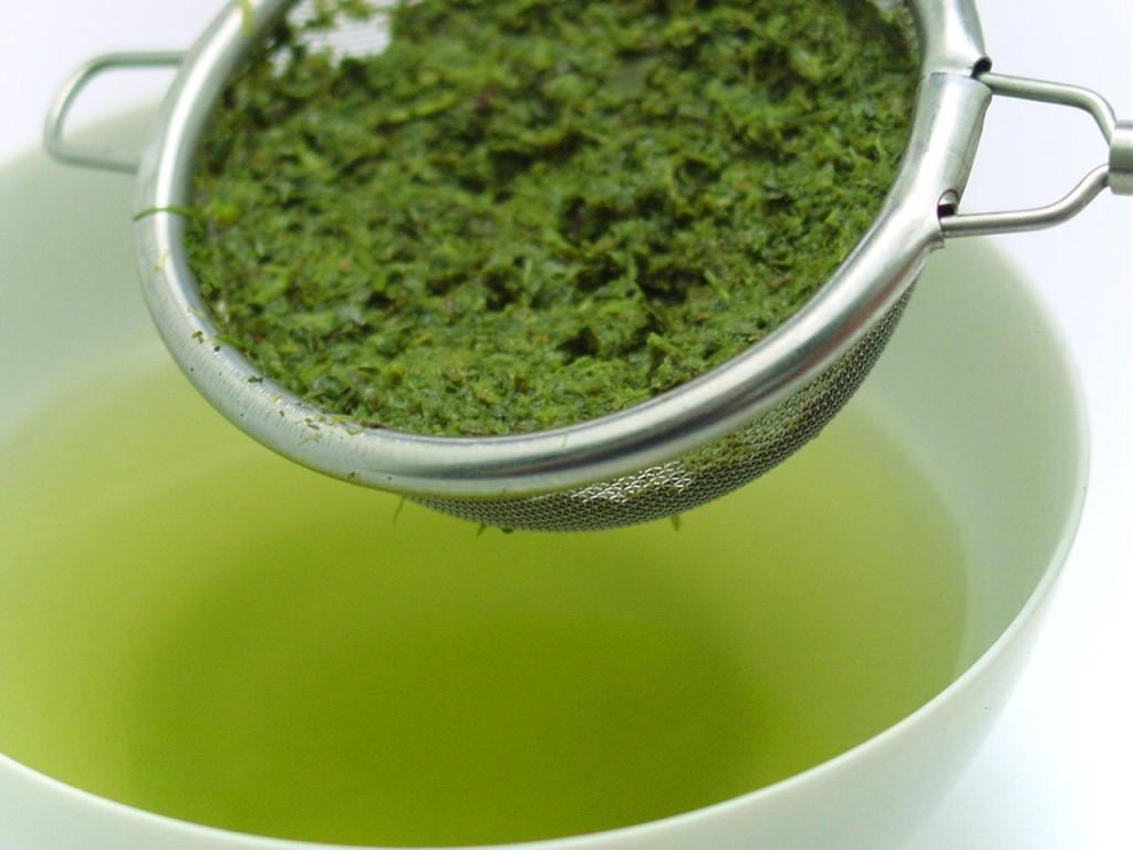 зелёный чай конача
