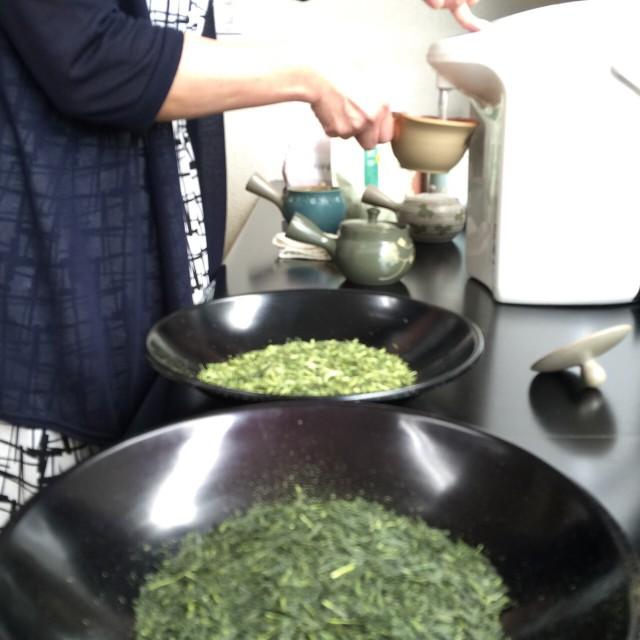 зелёный чай ямато