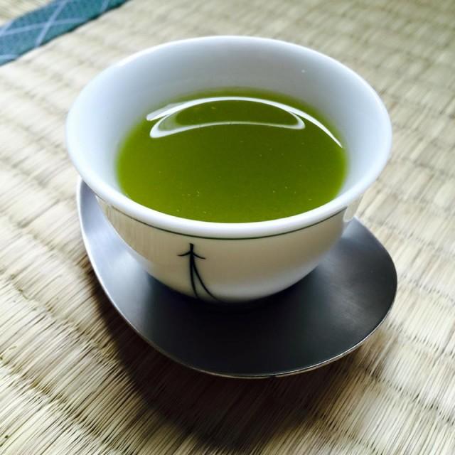 цельный чай сенча цукурикоми