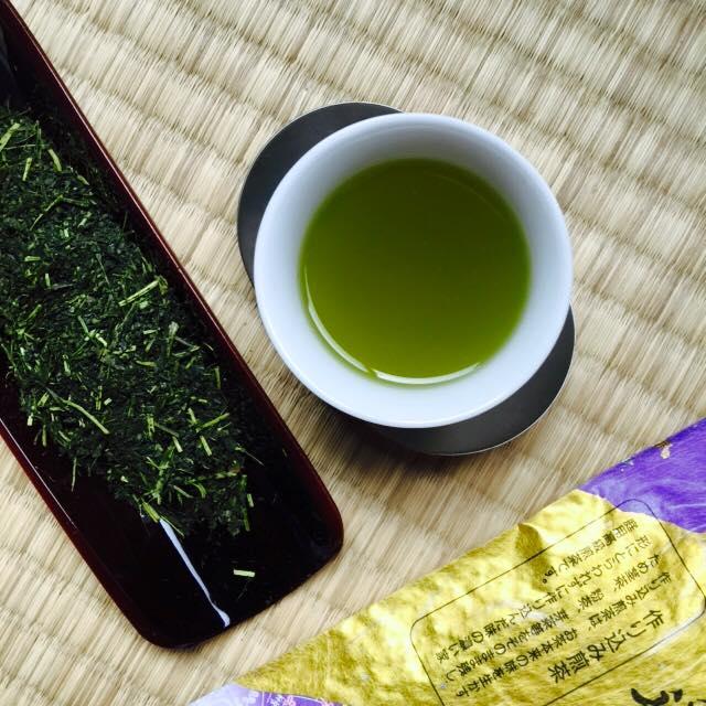 японский зелёный чай сенча