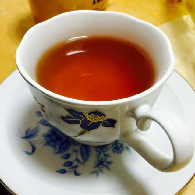 премиальный чёрный чай произведён в Японии
