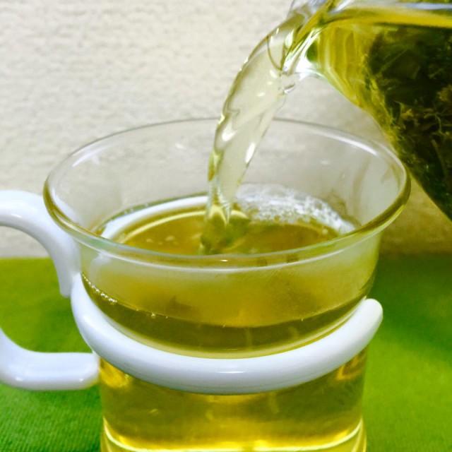 японский чай с ромашкой