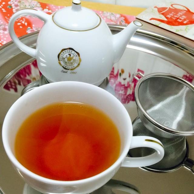 элитный чёрный японский чай бэнифуки